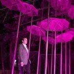 """Κοινή δράση των Δήμων Φιλοθέης – Ψυχικού και Θεσσαλονίκης: Ροζ φωτίστηκαν οι εμβληματικές """"Ομπρέλες"""" του Ζογγολόπουλου ως μήνυμα ευαισθητοποίησης για τον καρκίνο του μαστού"""